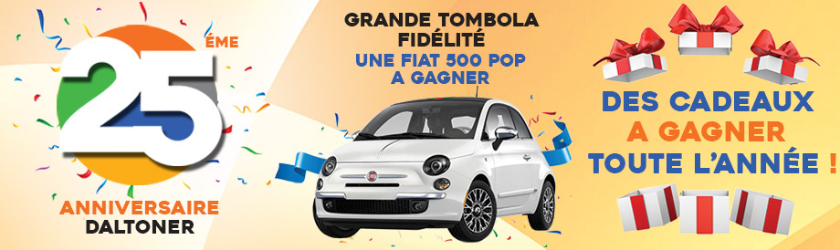 Une Fiat 500 POP a Gagner !